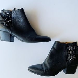 Franco Sarto Geila Leather Ankle Boots